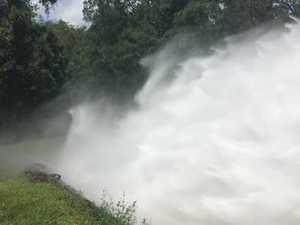 The danger of trespassing at dams
