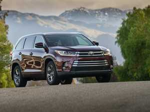 Updated Toyota Kluger arriving here in late February
