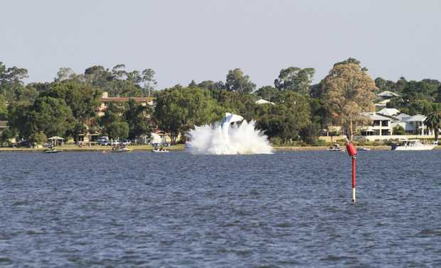 Peter Lynch died after his seaplane crashed into the Swan River in Perth.