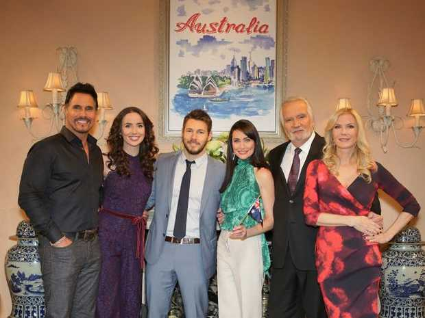 The Bold and the Beautiful stars heading down under ...