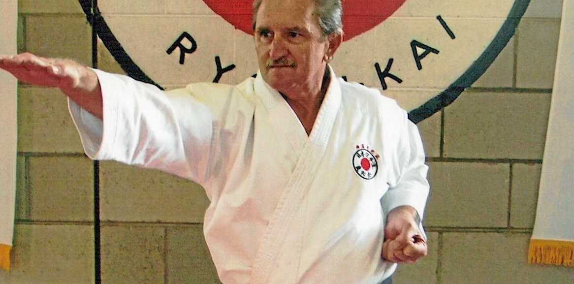 RESPECTED: Noel Turner has been instructing karate for more than four decades.