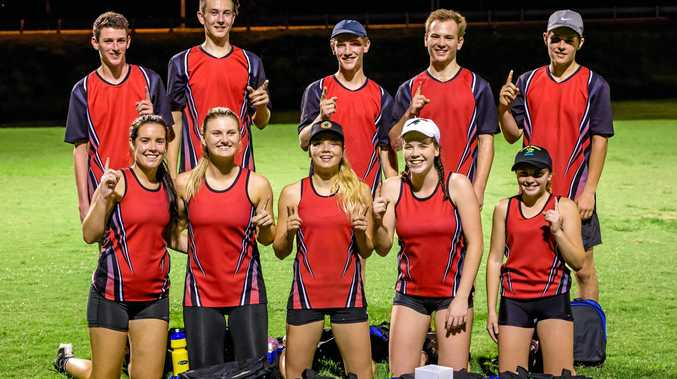 WINNERS: Gympie Garage Doors were the winners of the A-grade mixed summer 2016 season. The team consists of players who have played in Gympie Touch since juniors including (back from left) Tom Cav, Mitch Nuske, Jack Cross, Owen Dugdale, Liam Urwin, (front) Siobhan Millard, Anna Cartwright, Talija Smith, Ella Findlay and Georgia Zemanek.