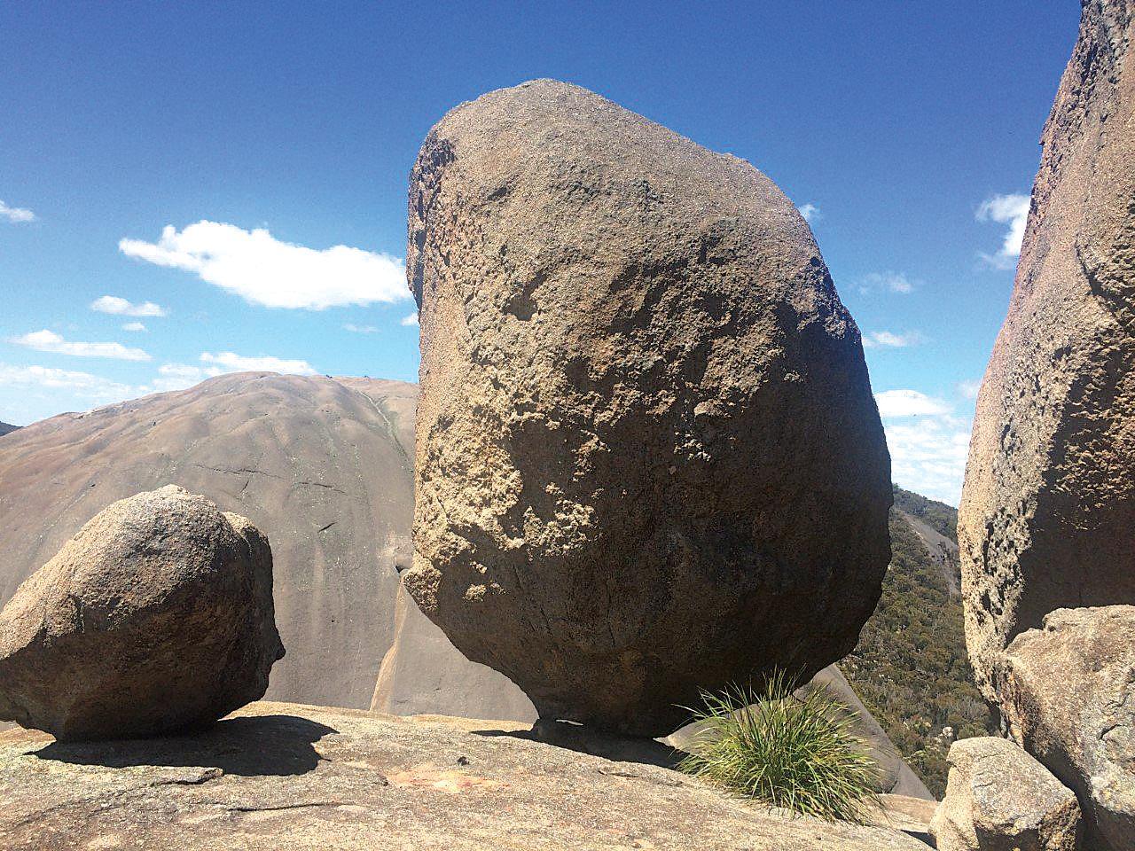 Boulders in Girraween National Park.