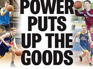 POWER PUTS UP THE GOODS