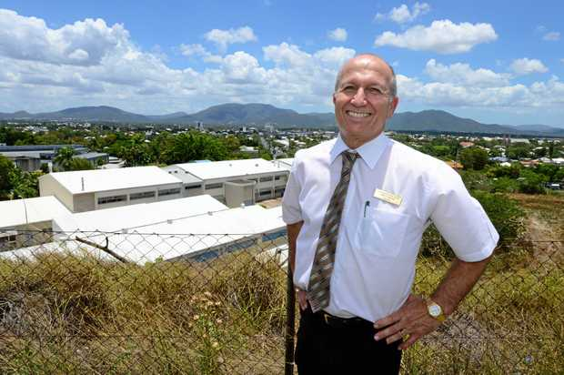 ONLINE AUCTION: Rockhampton Real Estate princial Vince Agius is about to launch the Mt Morgan land release.