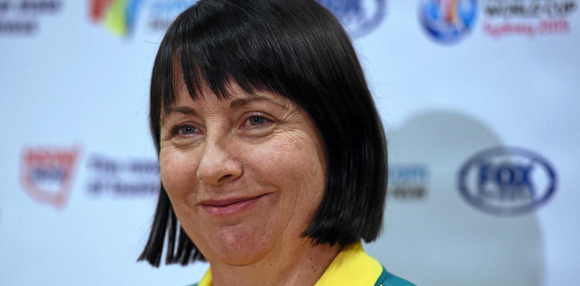 Australian netball team coach Lisa Alexander.