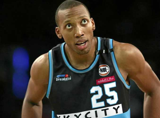 Akil Mitchell of the New Zealand Breakers.