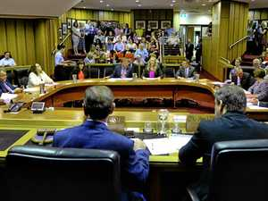 Ipswich City Council first meeting with the new 2016 council.