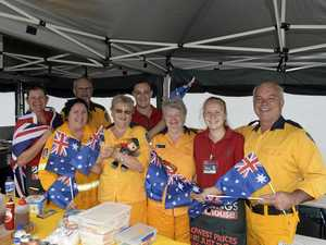Snag for a cause at Bunnings