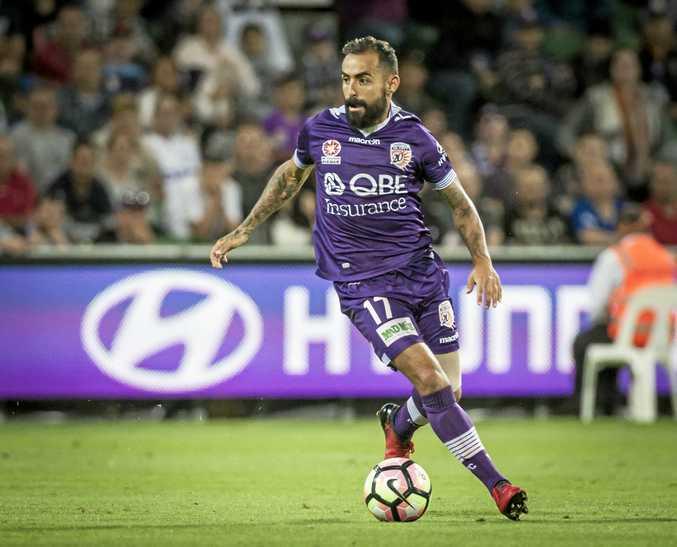 Diego Castro of the Perth Glory.