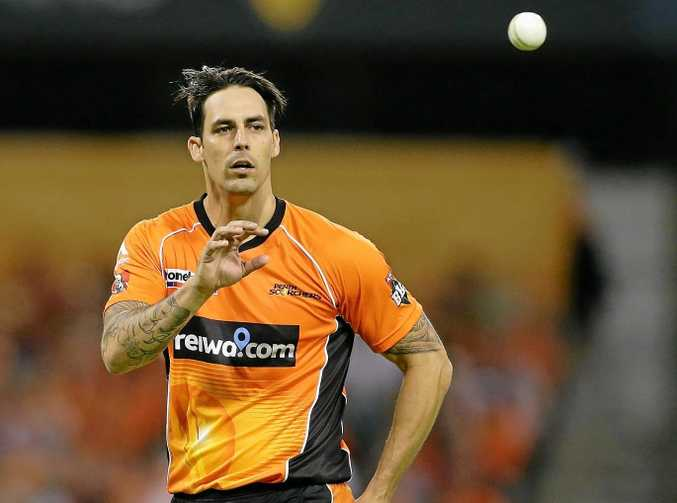 Mitchell Johnson has starred in this year's Big Bsh League.