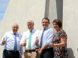 Politicians all smiles as new MoU announced in Tweed