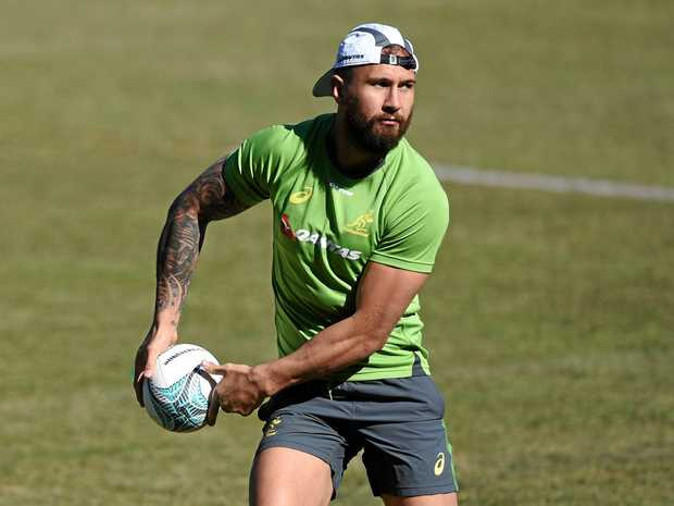 DIFFERENT FOCUS: Quade Cooper will skip the Brisbane Tens.
