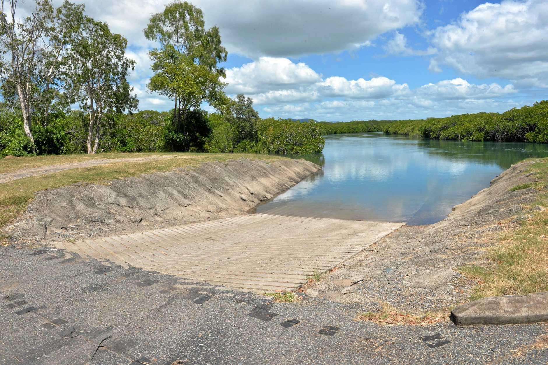 McCreadys Creek boat ramp