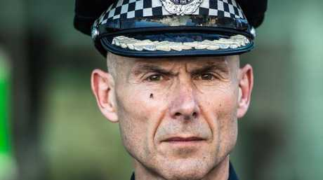 """Victoria Police deputy commissioner Andrew Crisp. """"We are not a risk averse organisation."""""""