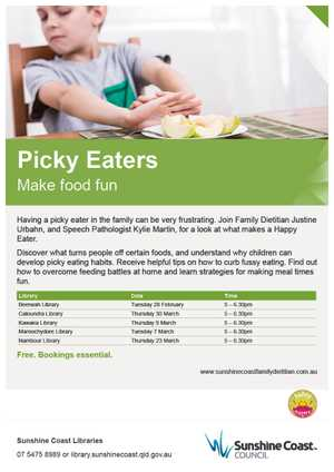 how to make food fun for picky eaters