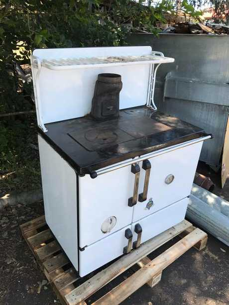 This Crown stove at Toowoomba Recycled Timber and Furniture is in stunning condition.