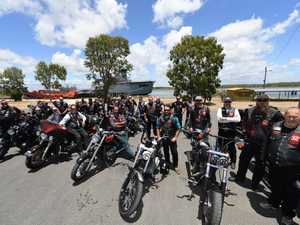 Patriots ride to view HMAS Tobruk