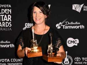Travis Collins, Sara Storer winners at Golden Guitar Awards