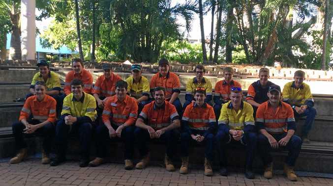 The 2017 apprentice intake at Glencore.
