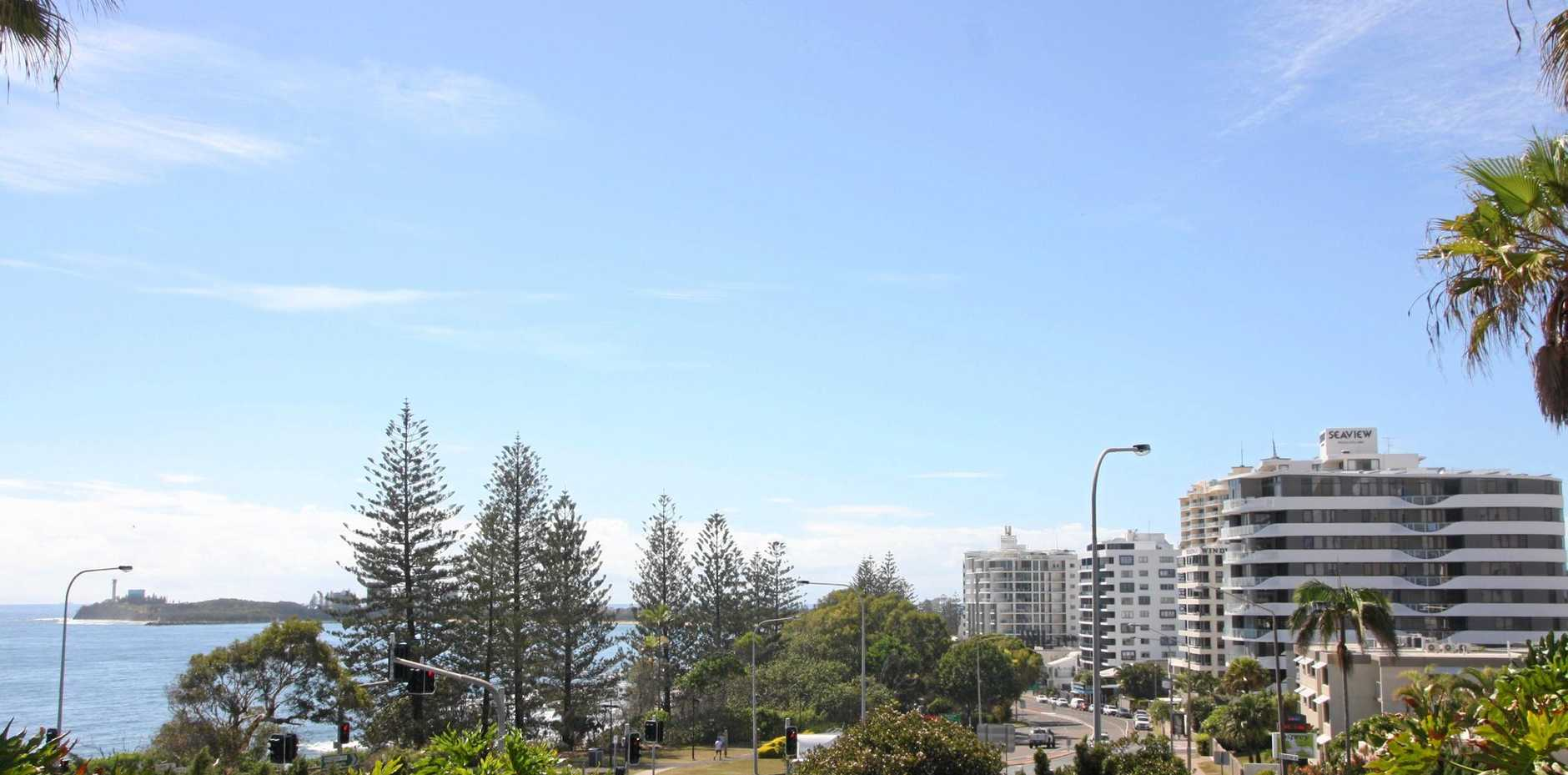 The Mooloolaba Esplanade is a changing landscape.