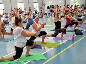Yoga Day a big success on Coast