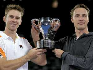Australian shines in taking out doubles title