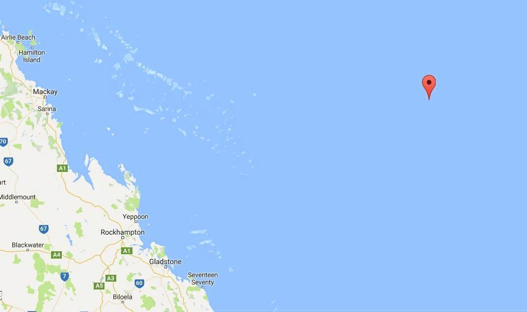 Kenn Reefs, off the Central Queensland coast.