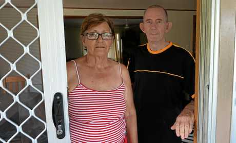 Janice Keys pictured here with her husband Peter, is disappointed with a recent sentence handed down to a man who assaulted her in her home.