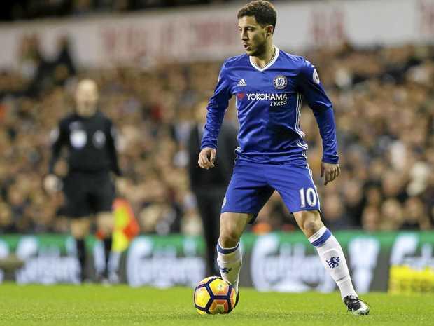 Chelsea star Eden Hazard.
