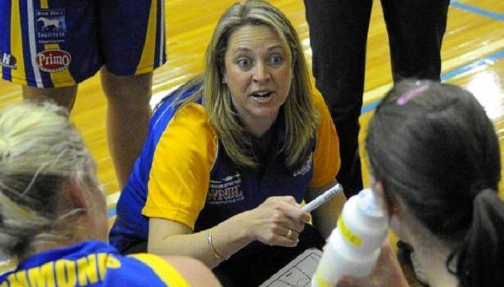 Sydney Uni Flames coach Cheryl Chambers.