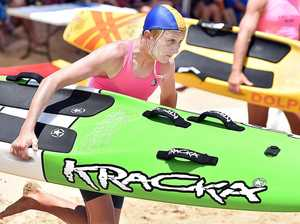 Surf lifesavers compete at Wide Bay Capricorn titles
