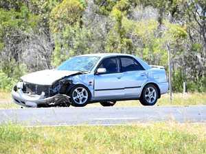 Seven people including children injured in crash