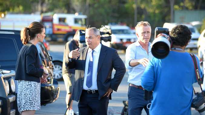 TRASH TALK: Gold Coast Mayor Tom Tate is talking tough about stopping interstate rubbish being dumped on the Gold Coast.