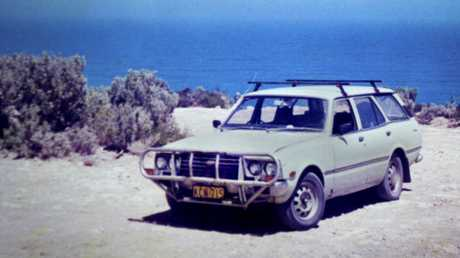 FIRST LOVE: Isabella's first car was a 1976 Toyota Corona wagon.