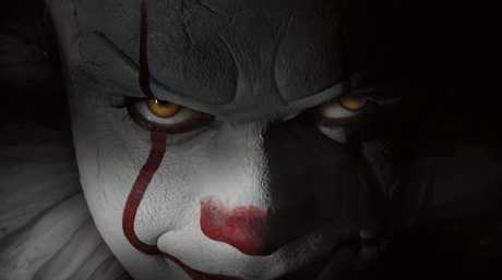 A scene from the movie It.