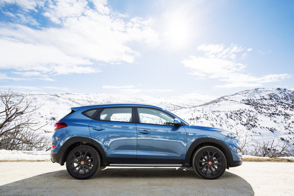 ICE COOL: Popular Tucson mid-size SUV ups the style and features as Hyundai celebrates its Australian 30th birthday with this limited-to-300 special editions for $37,750.