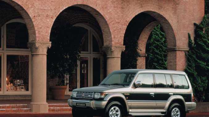 UNHAPPY MEMORIES: 1990s Mitsubishi Pajero.