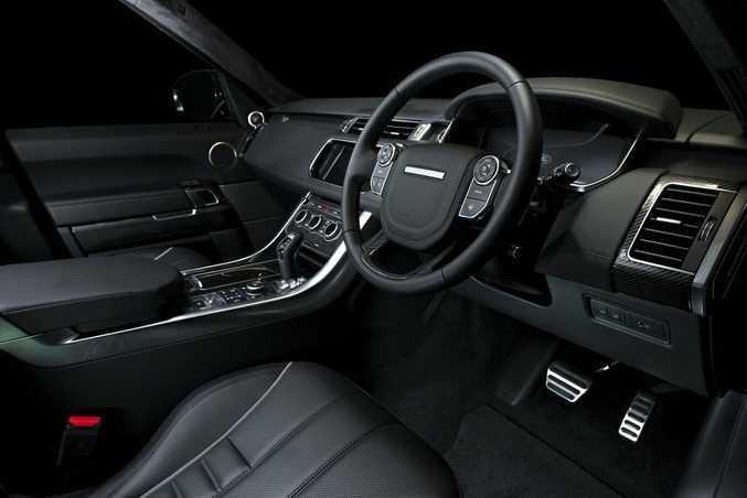 2017 Range Rover Sport SVR.
