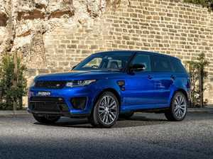 Range Rover Sport SVR is an off-road speed demon