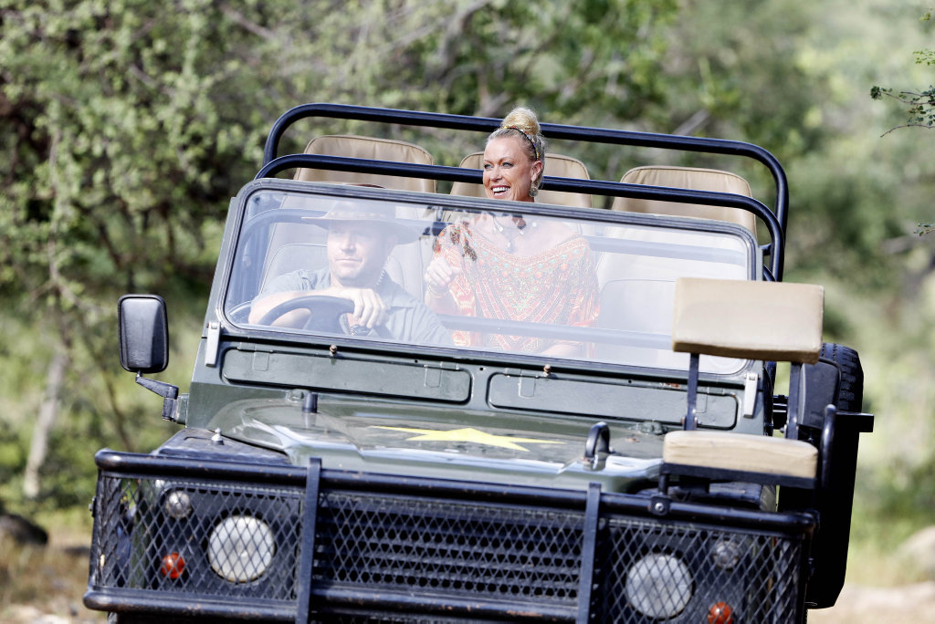 Lisa Curry arrives on the first day of I'm A Celebrity... Get Me Out of Here!