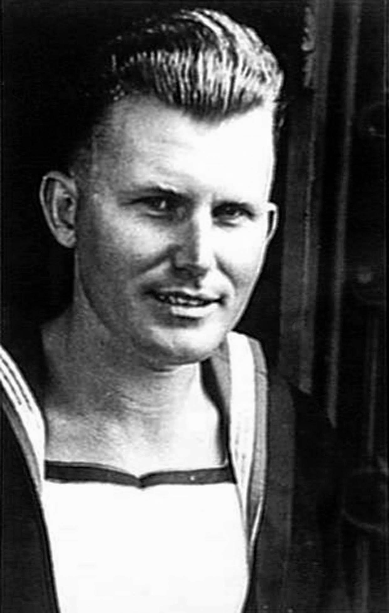 SPECIAL EFFORT: Able Seaman Walter Gordon Falls served with the infamous Z Force.