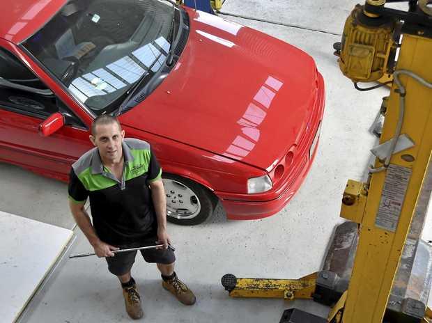 NEW BUSINESS: Steve Lindenmayer from Steves workshop in Mort St.