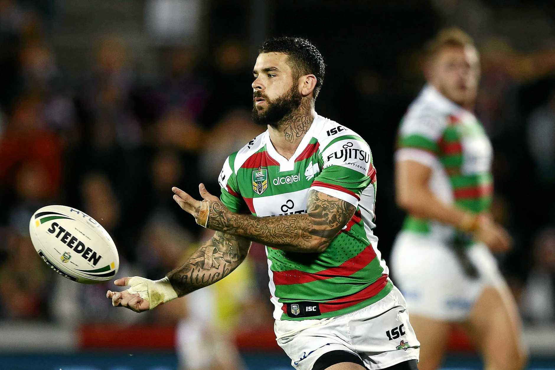 Adam Reynolds in action for the Rabbitohs.