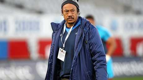 Blues` head coach Tana Umaga