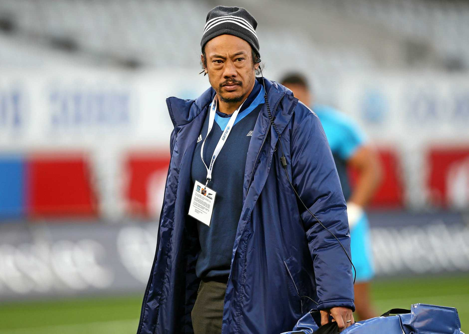 Blues` head coach Tana Umaga