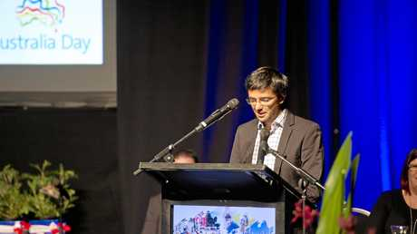 Mexican-born former Gladstone resident Dante Reynaud spoke positively about his life in Australia.