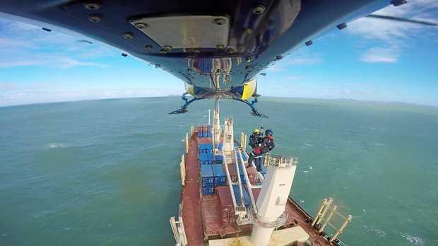 RACQ Capricorn Helicopter Rescue at Port Alma.