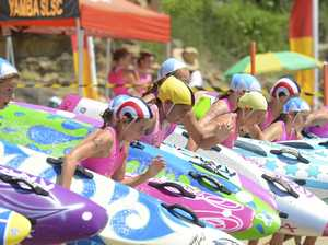 Nippers come to the fore on Yamba's shore