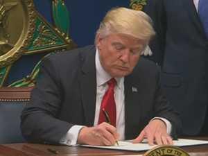 Trump ban causes chaos
